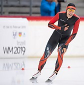Subject: Clemens Gawer; Tags: Sport, Herren, Men, Gentlemen, Mann, Männer, Gents, Sirs, Mister, GER, Germany, Deutschland, Eisschnelllauf, Speed skating, Schaatsen, Daria Kamelkova, Clemens Gawer, Athlet, Athlete, Sportler, Wettkämpfer, Sportsman; PhotoID: 2018-11-03-0167
