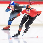 Subject: Michael Roth; Tags: Sport, Michael Roth, Herren, Men, Gentlemen, Mann, Männer, Gents, Sirs, Mister, GER, Germany, Deutschland, Eisschnelllauf, Speed skating, Schaatsen, Daria Kamelkova, Athlet, Athlete, Sportler, Wettkämpfer, Sportsman; PhotoID: 2018-11-03-0174