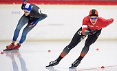 Subject: Michael Roth; Tags: Sport, Michael Roth, Herren, Men, Gentlemen, Mann, Männer, Gents, Sirs, Mister, GER, Germany, Deutschland, Eisschnelllauf, Speed skating, Schaatsen, Daria Kamelkova, Athlet, Athlete, Sportler, Wettkämpfer, Sportsman; PhotoID: 2018-11-03-0175