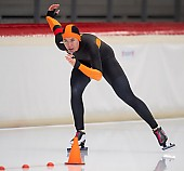 Subject: Katja Franzen; Tags: Sport, Katja Franzen, GER, Germany, Deutschland, Eisschnelllauf, Speed skating, Schaatsen, Damen, Ladies, Frau, Mesdames, Female, Women, Athlet, Athlete, Sportler, Wettkämpfer, Sportsman; PhotoID: 2018-11-04-0044