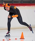 Subject: Katja Franzen; Tags: Sport, Katja Franzen, GER, Germany, Deutschland, Eisschnelllauf, Speed skating, Schaatsen, Damen, Ladies, Frau, Mesdames, Female, Women, Athlet, Athlete, Sportler, Wettkämpfer, Sportsman; PhotoID: 2018-11-04-0045
