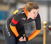 Subject: Katja Franzen; Tags: Sport, Katja Franzen, GER, Germany, Deutschland, Eisschnelllauf, Speed skating, Schaatsen, Damen, Ladies, Frau, Mesdames, Female, Women, Athlet, Athlete, Sportler, Wettkämpfer, Sportsman; PhotoID: 2018-11-04-0049