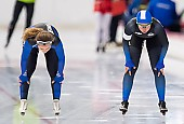 Subject: Jenny Peißker, Josephine Heimerl; Tags: Sport, Josephine Heimerl, Jenny Peißker, GER, Germany, Deutschland, Eisschnelllauf, Speed skating, Schaatsen, Damen, Ladies, Frau, Mesdames, Female, Women, Athlet, Athlete, Sportler, Wettkämpfer, Sportsman; PhotoID: 2018-11-04-0060
