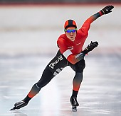 Subject: Michael Roth; Tags: Sport, Michael Roth, Herren, Men, Gentlemen, Mann, Männer, Gents, Sirs, Mister, GER, Germany, Deutschland, Eisschnelllauf, Speed skating, Schaatsen, Daria Kamelkova, Athlet, Athlete, Sportler, Wettkämpfer, Sportsman; PhotoID: 2018-11-04-0131