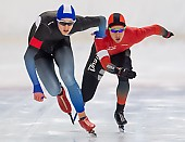 Subject: Jeremias Marx, Michael Roth; Tags: Sport, Michael Roth, Jeremias Marx, Herren, Men, Gentlemen, Mann, Männer, Gents, Sirs, Mister, GER, Germany, Deutschland, Eisschnelllauf, Speed skating, Schaatsen, Daria Kamelkova, Athlet, Athlete, Sportler, Wettkämpfer, Sportsman; PhotoID: 2018-11-04-0135
