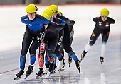 Subject: Roxanne Dufter; Tags: Sport, Roxanne Dufter, Mass Start, GER, Germany, Deutschland, Eisschnelllauf, Speed skating, Schaatsen, Detail, Damen, Ladies, Frau, Mesdames, Female, Women, Athlet, Athlete, Sportler, Wettkämpfer, Sportsman; PhotoID: 2018-11-04-0283