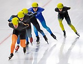 Subject: Max Reder; Tags: Sport, Max Reder, Mass Start, Herren, Men, Gentlemen, Mann, Männer, Gents, Sirs, Mister, GER, Germany, Deutschland, Eisschnelllauf, Speed skating, Schaatsen, Detail, Athlet, Athlete, Sportler, Wettkämpfer, Sportsman; PhotoID: 2018-11-04-0302