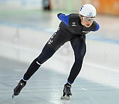 Subject: Saskia Alusalu; Tags: Sport, Saskia Alusalu, Mass Start, Eisschnelllauf, Speed skating, Schaatsen, EST, Estonia, Estland, Detail, Daria Kamelkova, Damen, Ladies, Frau, Mesdames, Female, Women, Athlet, Athlete, Sportler, Wettkämpfer, Sportsman; PhotoID: 2018-12-14-0060