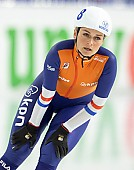 Subject: Irene Schouten; Tags: Sport, Mass Start, Irene Schouten, Eisschnelllauf, Speed skating, Schaatsen, Detail, Daria Kamelkova, Damen, Ladies, Frau, Mesdames, Female, Women, Athlet, Athlete, Sportler, Wettkämpfer, Sportsman, NED, Netherlands, Niederlande, Holland, Dutch; PhotoID: 2018-12-14-0200