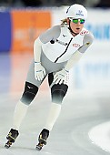 Subject: Claudia Pechstein; Tags: Sport, Mass Start, GER, Germany, Deutschland, Detail, Daria Kamelkova, Damen, Ladies, Frau, Mesdames, Female, Women, Claudia Pechstein, Athlet, Athlete, Sportler, Wettkämpfer, Sportsman, Eisschnelllauf, Speed skating, Schaatsen; PhotoID: 2018-12-14-0209