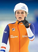 Subject: Irene Schouten; Tags: Sport, NED, Netherlands, Niederlande, Holland, Dutch, Mass Start, Irene Schouten, Eisschnelllauf, Speed skating, Schaatsen, Detail, Daria Kamelkova, Damen, Ladies, Frau, Mesdames, Female, Women, Athlet, Athlete, Sportler, Wettkämpfer, Sportsman; PhotoID: 2018-12-14-0215