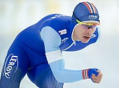 Subject: Simen Spieler Nilsen; Tags: Sport, Simen Spieler Nilsen, NOR, Norway, Norwegen, Herren, Men, Gentlemen, Mann, Männer, Gents, Sirs, Mister, Eisschnelllauf, Speed skating, Schaatsen, Daria Kamelkova, Athlet, Athlete, Sportler, Wettkämpfer, Sportsman; PhotoID: 2018-12-15-0242