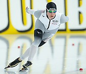 Subject: Claudia Pechstein; Tags: GER, Germany, Deutschland, Eisschnelllauf, Speed skating, Schaatsen, Daria Kamelkova, Damen, Ladies, Frau, Mesdames, Female, Women, Claudia Pechstein, Athlet, Athlete, Sportler, Wettkämpfer, Sportsman, Sport; PhotoID: 2018-12-15-0256