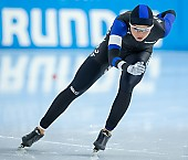 Subject: Saskia Alusalu; Tags: Daria Kamelkova, Damen, Ladies, Frau, Mesdames, Female, Women, Athlet, Athlete, Sportler, Wettkämpfer, Sportsman, Sport, Saskia Alusalu, Eisschnelllauf, Speed skating, Schaatsen, EST, Estonia, Estland; PhotoID: 2018-12-15-0296