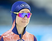Subject: Yu-Ting Huang; Tags: Damen, Ladies, Frau, Mesdames, Female, Women, Athlet, Athlete, Sportler, Wettkämpfer, Sportsman, Yu-Ting Huang, TPE, Sport, Eisschnelllauf, Speed skating, Schaatsen, Daria Kamelkova; PhotoID: 2018-12-15-0308