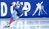 Subject: Sergey Trofimov; Tags: Athlet, Athlete, Sportler, Wettkämpfer, Sportsman, Sport, Sergey Trofimov, RUS, Russian Federation, Russische Föderation, Russia, Herren, Men, Gentlemen, Mann, Männer, Gents, Sirs, Mister, Eisschnelllauf, Speed skating, Schaatsen, Daria Kamelkova; PhotoID: 2018-12-15-0609
