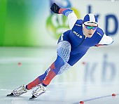 Subject: Sergey Trofimov; Tags: Sport, Sergey Trofimov, RUS, Russian Federation, Russische Föderation, Russia, Herren, Men, Gentlemen, Mann, Männer, Gents, Sirs, Mister, Eisschnelllauf, Speed skating, Schaatsen, Daria Kamelkova, Athlet, Athlete, Sportler, Wettkämpfer, Sportsman; PhotoID: 2018-12-15-0611