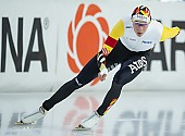 Subject: Bart Swings; Tags: Sport, Herren, Men, Gentlemen, Mann, Männer, Gents, Sirs, Mister, Eisschnelllauf, Speed skating, Schaatsen, Daria Kamelkova, Bart Swings, BEL, Belgium, Belgien, Athlet, Athlete, Sportler, Wettkämpfer, Sportsman; PhotoID: 2018-12-15-0626
