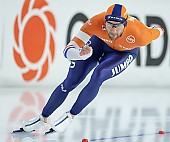 Subject: Thomas Krol; Tags: Athlet, Athlete, Sportler, Wettkämpfer, Sportsman, Thomas Krol, Sport, NED, Netherlands, Niederlande, Holland, Dutch, Herren, Men, Gentlemen, Mann, Männer, Gents, Sirs, Mister, Eisschnelllauf, Speed skating, Schaatsen, Daria Kamelkova; PhotoID: 2018-12-15-0630