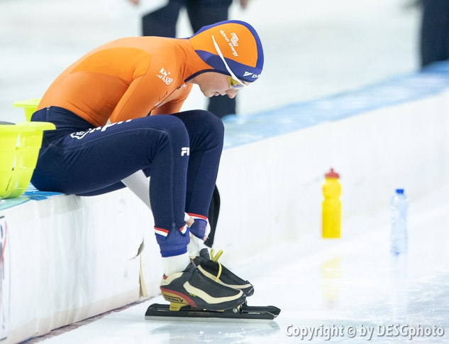 Melissa Wijfje; Tags: Athlet, Athlete, Sportler, Wettkämpfer, Sportsman, Sport, NED, Netherlands, Niederlande, Holland, Dutch, Melissa Wijfje, Eisschnelllauf, Speed skating, Schaatsen, Daria Kamelkova, Damen, Ladies, Frau, Mesdames, Female, Women; PhotoID: 2018-12-15-0749