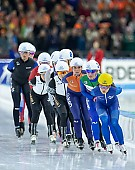 Subject: Irene Schouten, Francesca Lollobrigida, Bo-Reum Kim; Tags: Sport, KOR, South Korea, Südkorea, Irene Schouten, ITA, Italy, Italien, Francesca Lollobrigida, Eisschnelllauf, Speed skating, Schaatsen, Daria Kamelkova, Bo-Reum Kim, Athlet, Athlete, Sportler, Wettkämpfer, Sportsman, NED, Netherlands, Niederlande, Holland, Dutch, Damen, Ladies, Frau, Mesdames, Female, Women; PhotoID: 2018-12-15-0950