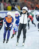 Subject: Irene Schouten, Nana Takagi; Tags: JPN, Japan, Nippon, Irene Schouten, Eisschnelllauf, Speed skating, Schaatsen, Daria Kamelkova, Damen, Ladies, Frau, Mesdames, Female, Women, Athlet, Athlete, Sportler, Wettkämpfer, Sportsman, Sport, Nana Takagi, NED, Netherlands, Niederlande, Holland, Dutch; PhotoID: 2018-12-15-0983