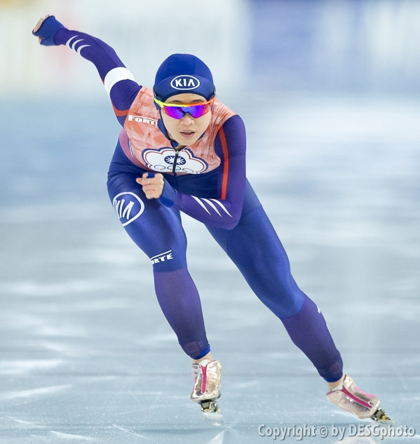 Yu-Ting Huang; Tags: Yu-Ting Huang, TPE, Sport, Eisschnelllauf, Speed skating, Schaatsen, Daria Kamelkova, Damen, Ladies, Frau, Mesdames, Female, Women, Athlet, Athlete, Sportler, Wettkämpfer, Sportsman; PhotoID: 2018-12-16-0075
