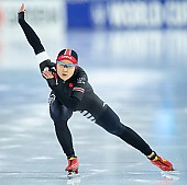 Subject: Jingzhu Jin; Tags: Sport, Jingzhu Jin, Daria Kamelkova, Damen, Ladies, Frau, Mesdames, Female, Women, CHN, China, Volksrepublik China, Athlet, Athlete, Sportler, Wettkämpfer, Sportsman, Eisschnelllauf, Speed skating, Schaatsen; PhotoID: 2018-12-16-0091