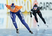 Subject: Lotte van Beek; Tags: Sport, NED, Netherlands, Niederlande, Holland, Dutch, Lotte van Beek, Eisschnelllauf, Speed skating, Schaatsen, Daria Kamelkova, Damen, Ladies, Frau, Mesdames, Female, Women, Athlet, Athlete, Sportler, Wettkämpfer, Sportsman; PhotoID: 2018-12-16-0111