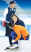 Subject: Dai Dai Ntab, Gerard van Velde; Tags: Trainer, Coach, Betreuer, Sport, NED, Netherlands, Niederlande, Holland, Dutch, Gerard van Velde, Eisschnelllauf, Speed skating, Schaatsen, Daria Kamelkova, Dai Dai Ntab, Athlet, Athlete, Sportler, Wettkämpfer, Sportsman, Herren, Men, Gentlemen, Mann, Männer, Gents, Sirs, Mister; PhotoID: 2018-12-16-0206