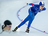 Subject: Ji Woo Park; Tags: Sport, KOR, South Korea, Südkorea, Ji Woo Park, Daria Kamelkova, Damen, Ladies, Frau, Mesdames, Female, Women, Athlet, Athlete, Sportler, Wettkämpfer, Sportsman, Eisschnelllauf, Speed skating, Schaatsen; PhotoID: 2018-12-16-0340