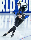 Subject: Saskia Alusalu; Tags: Sport, Saskia Alusalu, Eisschnelllauf, Speed skating, Schaatsen, EST, Estonia, Estland, Daria Kamelkova, Damen, Ladies, Frau, Mesdames, Female, Women, Athlet, Athlete, Sportler, Wettkämpfer, Sportsman; PhotoID: 2018-12-16-0355