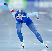 Subject: Hege Bøkko; Tags: Sport, NOR, Norway, Norwegen, Hege Bøkko, Eisschnelllauf, Speed skating, Schaatsen, Daria Kamelkova, Damen, Ladies, Frau, Mesdames, Female, Women, Athlet, Athlete, Sportler, Wettkämpfer, Sportsman; PhotoID: 2018-12-16-0528