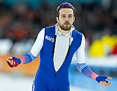 Subject: Denis Yuskov; Tags: Sport, RUS, Russian Federation, Russische Föderation, Russia, Herren, Men, Gentlemen, Mann, Männer, Gents, Sirs, Mister, Eisschnelllauf, Speed skating, Schaatsen, Denis Yuskov, Daria Kamelkova, Athlet, Athlete, Sportler, Wettkämpfer, Sportsman; PhotoID: 2018-12-16-0610