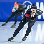Subject: Valerie Maltais; Tags: Valerie Maltais, Sport, Eisschnelllauf, Speed skating, Schaatsen, Daria Kamelkova, Damen, Ladies, Frau, Mesdames, Female, Women, CAN, Canada, Kanada, Athlet, Athlete, Sportler, Wettkämpfer, Sportsman; PhotoID: 2018-12-16-0725