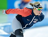 Subject: Claudia Pechstein; Tags: Sport, GER, Germany, Deutschland, Eisschnelllauf, Speed skating, Schaatsen, Daria Kamelkova, Damen, Ladies, Frau, Mesdames, Female, Women, Claudia Pechstein, Athlet, Athlete, Sportler, Wettkämpfer, Sportsman; PhotoID: 2018-12-16-0738