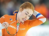 Subject: Antoinette de Jong; Tags: Sport, NED, Netherlands, Niederlande, Holland, Dutch, Eisschnelllauf, Speed skating, Schaatsen, Daria Kamelkova, Damen, Ladies, Frau, Mesdames, Female, Women, Athlet, Athlete, Sportler, Wettkämpfer, Sportsman, Antoinette de Jong; PhotoID: 2018-12-16-0750