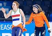 Motiv: Antoinette de Jong, Melissa Wijfje; Tags: Sport, NED, Netherlands, Niederlande, Holland, Dutch, Melissa Wijfje, Eisschnelllauf, Speed skating, Schaatsen, Daria Kamelkova, Damen, Ladies, Frau, Mesdames, Female, Women, Athlet, Athlete, Sportler, Wettkämpfer, Sportsman, Antoinette de Jong; PhotoID: 2018-12-16-0751