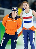 Subject: Melissa Wijfje; Tags: Sport, NED, Netherlands, Niederlande, Holland, Dutch, Melissa Wijfje, Eisschnelllauf, Speed skating, Schaatsen, Daria Kamelkova, Damen, Ladies, Frau, Mesdames, Female, Women, Athlet, Athlete, Sportler, Wettkämpfer, Sportsman; PhotoID: 2018-12-16-0752