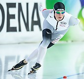 Subject: Claudia Pechstein; Tags: Sport, GER, Germany, Deutschland, Eisschnelllauf, Speed skating, Schaatsen, Daria Kamelkova, Damen, Ladies, Frau, Mesdames, Female, Women, Claudia Pechstein, Athlet, Athlete, Sportler, Wettkämpfer, Sportsman; PhotoID: 2018-12-16-0769