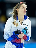 Subject: Elena Sokhryakova; Tags: Sport, RUS, Russian Federation, Russische Föderation, Russia, Elena Sokhryakova, Eisschnelllauf, Speed skating, Schaatsen, Daria Kamelkova, Damen, Ladies, Frau, Mesdames, Female, Women, Athlet, Athlete, Sportler, Wettkämpfer, Sportsman; PhotoID: 2018-12-16-0783