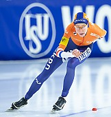Subject: Esmee Visser; Tags: Sport, NED, Netherlands, Niederlande, Holland, Dutch, Esmee Visser, Eisschnelllauf, Speed skating, Schaatsen, Daria Kamelkova, Damen, Ladies, Frau, Mesdames, Female, Women, Athlet, Athlete, Sportler, Wettkämpfer, Sportsman; PhotoID: 2018-12-16-0821