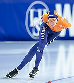 Subject: Esmee Visser; Tags: Sport, NED, Netherlands, Niederlande, Holland, Dutch, Esmee Visser, Eisschnelllauf, Speed skating, Schaatsen, Daria Kamelkova, Damen, Ladies, Frau, Mesdames, Female, Women, Athlet, Athlete, Sportler, Wettkämpfer, Sportsman; PhotoID: 2018-12-16-0829