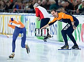 Subject: Wouter olde Heuvel; Tags: Wouter Olde Heuvel, Trainer, Coach, Betreuer, Sport, NED, Netherlands, Niederlande, Holland, Dutch, Eisschnelllauf, Speed skating, Schaatsen, Daria Kamelkova; PhotoID: 2018-12-16-0836