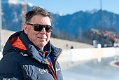 Subject: Jan Coopmans; Tags: Trainer, Coach, Betreuer, Sport, Jan Coopmans, GER, Germany, Deutschland, Eisschnelllauf, Speed skating, Schaatsen, Daria Kamelkova; PhotoID: 2019-01-11-0029
