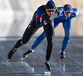 Subject: Saskia Alusalu; Tags: Sport, Saskia Alusalu, Eisschnelllauf, Speed skating, Schaatsen, EST, Estonia, Estland, Daria Kamelkova, Damen, Ladies, Frau, Mesdames, Female, Women, Athlet, Athlete, Sportler, Wettkämpfer, Sportsman; PhotoID: 2019-01-11-0341