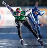 Subject: Ignat Golovatsiuk; Tags: Athlet, Athlete, Sportler, Wettkämpfer, Sportsman, BLR, Belarus, White Russia, Weißrussland, Byelorussia, Daria Kamelkova, Eisschnelllauf, Speed skating, Schaatsen, Herren, Men, Gentlemen, Mann, Männer, Gents, Sirs, Mister, Ignat Golovatsiuk, Sport; PhotoID: 2019-01-11-0551