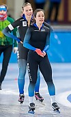 Subject: Josephine Mönnich; Tags: Athlet, Athlete, Sportler, Wettkämpfer, Sportsman, Damen, Ladies, Frau, Mesdames, Female, Women, Daria Kamelkova, Eisschnelllauf, Speed skating, Schaatsen, GER, Germany, Deutschland, Josephine Mönnich, Sport; PhotoID: 2019-01-19-0096