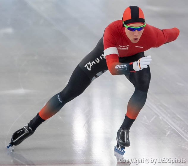 Michael Roth; Tags: Athlet, Athlete, Sportler, Wettkämpfer, Sportsman, Daria Kamelkova, Eisschnelllauf, Speed skating, Schaatsen, GER, Germany, Deutschland, Herren, Men, Gentlemen, Mann, Männer, Gents, Sirs, Mister, Michael Roth, Sport; PhotoID: 2019-01-19-0198