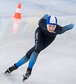 Subject: Anna Bretschneider; Tags: Anna Bretschneider, Athlet, Athlete, Sportler, Wettkämpfer, Sportsman, Damen, Ladies, Frau, Mesdames, Female, Women, Daria Kamelkova, Eisschnelllauf, Speed skating, Schaatsen, GER, Germany, Deutschland, Sport; PhotoID: 2019-01-19-0228